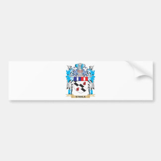 Steels Coat of Arms - Family Crest Bumper Stickers
