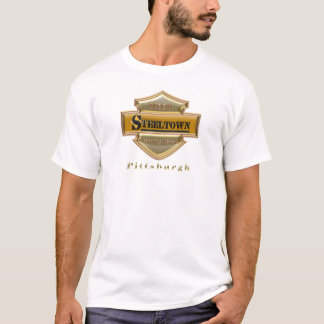 Steeltown Gold Logo Performance Micro-Fiber Single T-Shirt