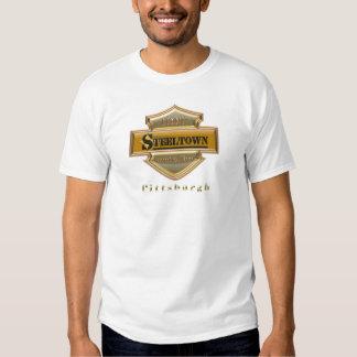 Steeltown Gold Logo Performance Micro-Fiber Single Tshirts