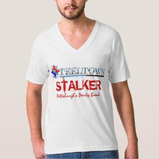 """Steeltown """"Stalker"""" Men's V Neck T-Shirt"""