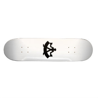 Steelworker Bending Steel Skate Boards