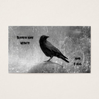 Steely Gray Business Card