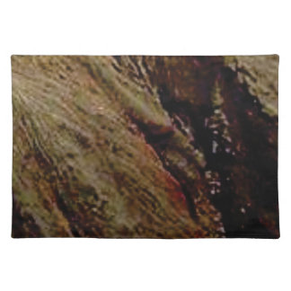 steep colored canyon placemat