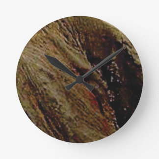steep colored canyon round clock
