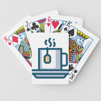 Steeping Tea Bicycle Playing Cards