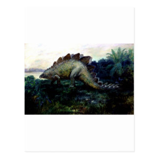 stegosaurus-4 postcard