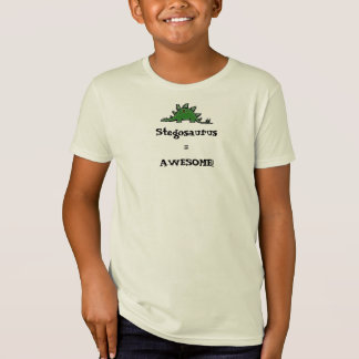 Stegosaurus=AWESOME! T-Shirt