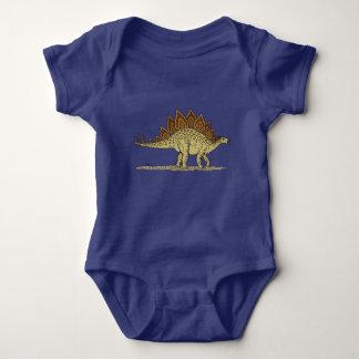 Stegosaurus Baby Bodysuit