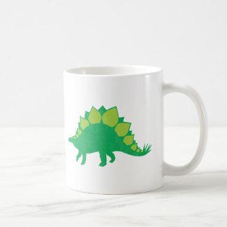 Stegosaurus Basic White Mug