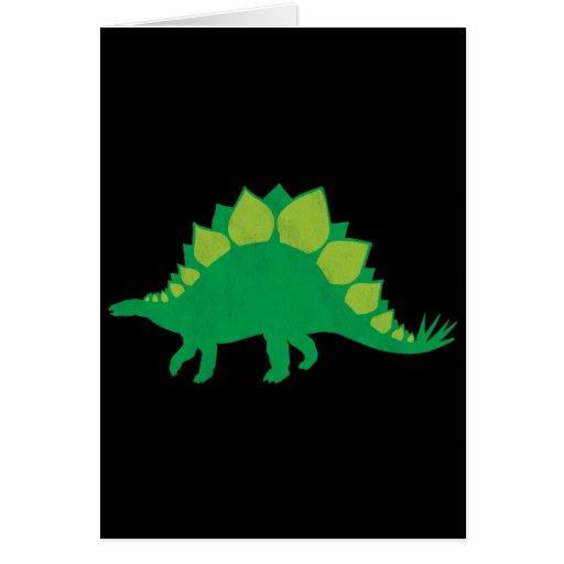Stegosaurus Cards