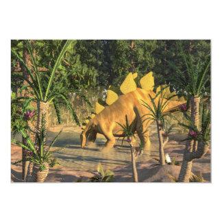 Stegosaurus dinosaur - 3D render Card