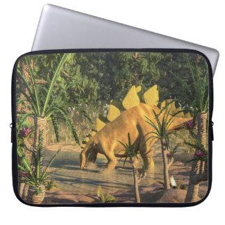 Stegosaurus dinosaur - 3D render Laptop Sleeve