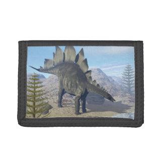 Stegosaurus dinosaur - 3D render Trifold Wallet