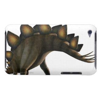Stegosaurus dinosaur, computer artwork. iPod touch cases