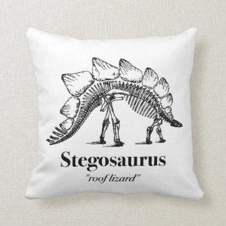 Stegosaurus Dinosaur Skeleton Bones Cool Cushion