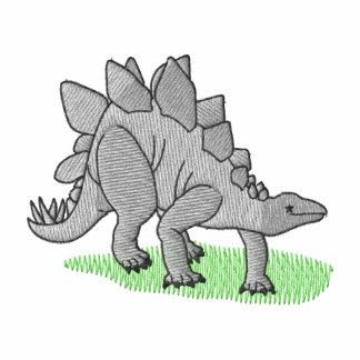 Stegosaurus Embroidered Hooded Sweatshirt