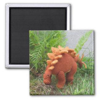 Stegosaurus fridge magnet