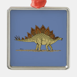 Stegosaurus Metal Ornament