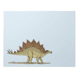 Stegosaurus Notepad