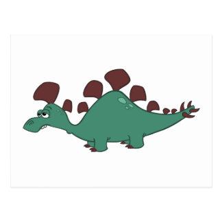 Stegosaurus Postcard