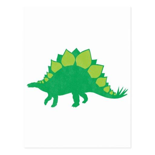 Stegosaurus Post Card