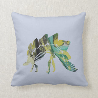 Stegosaurus Skeleton Cushion