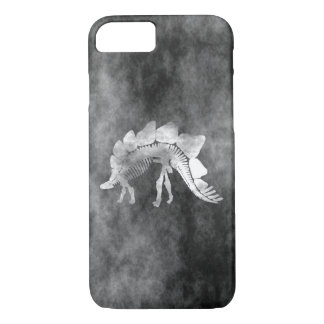 Stegosaurus skeleton iPhone 7 case