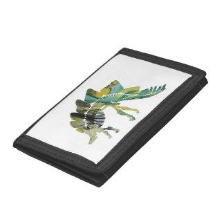 Stegosaurus Skeleton Tri-fold Wallets