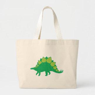 Stegosaurus Tote Bags