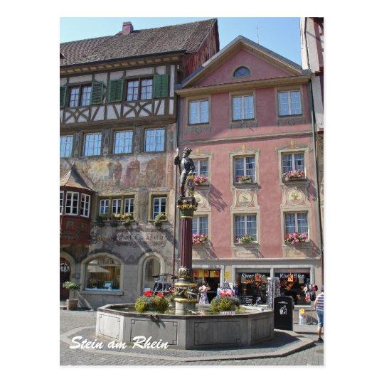 Stein am Rhein Postcard