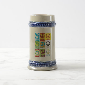 STEIN - Deluxe - Recycle-Peace Coffee Mug