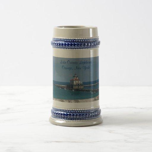 Stein Lighthouse Coffee Mugs