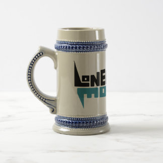 Stein with Black/Teal Logo