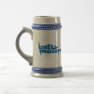 Stein with Blue Logo