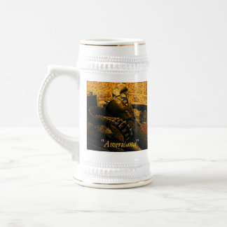 Stein with Gun and Holster Coffee Mugs