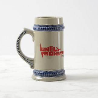 Stein with Red Logo