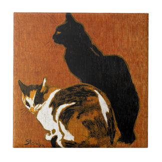 Steinlen Cats Ceramics Small Square Tile