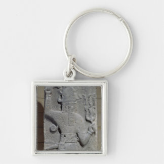 Stela of Teshub, Syrian storm god Key Ring