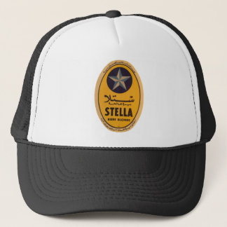 Stella Biere Blonde Beer Label Trucker Hat