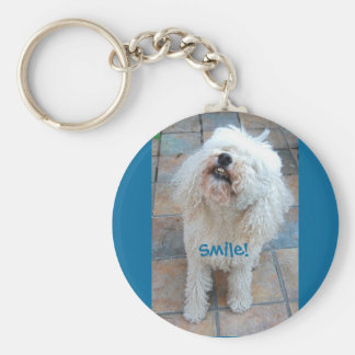 Stella, the Wonder Poodle, Smiles Keychain