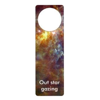 Stellar nursery in Unicorn Constellation Door Knob Hanger