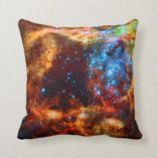 Stellar Nursery R136 in the Tarantula Nebula Cushion