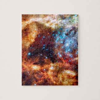 Stellar Nursery R136 Tarantula Nebula NASA Photo Jigsaw Puzzle