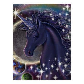 Stellar Unicorn Postcard