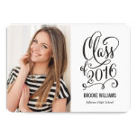 Stellar Year Editable Text Colour Graduation White 13 Cm X 18 Cm Invitation Card