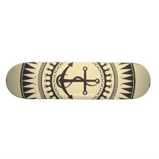 StellaRoot Anchor Down Cream 19.7 Cm Skateboard Deck