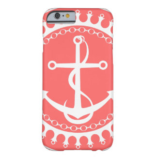 StellaRoot Anchor Down Preppy Pink Barely There iPhone 6 Case