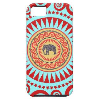 StellaRoot Damask Elephant Vinatge Preppy iPhone 5 Covers