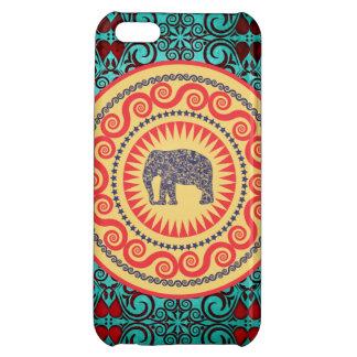 Stellaroot Elegant damask Elephant  Vintage iPhone 5C Cover