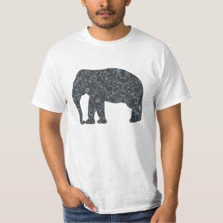 StellaRoot Elephant Damask T Shirts
